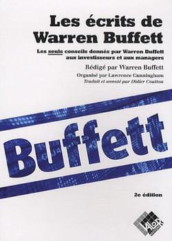 un livre rédigé par warren buffett lui-même.