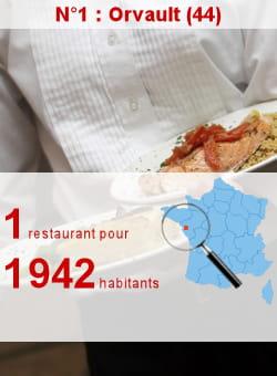 l'insee recense 13 restaurants à orvault.