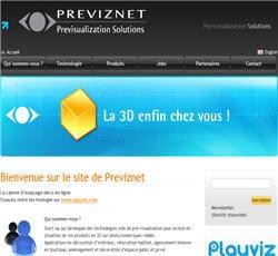previznet, éditeur d'une plate-forme technologique d'analyse d'images et de