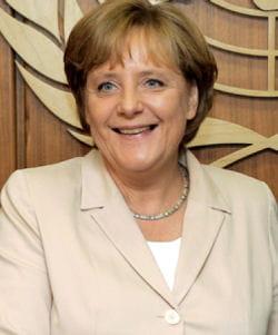 angela merkel est la 4e femme la plus puissante du monde.