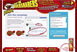 la campagne 'help the oversharers' de pringles