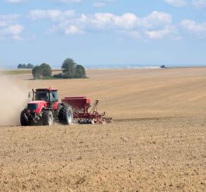 les terres arables représentent 24% de la superficie totale de la russie mais