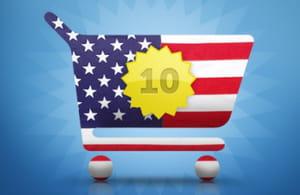 les 10 sites marchands américains dont la croissance a été la plus forte en 2011