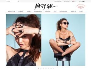 nasty gal est une e-boutique de mode féminine vintage