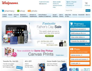 walgreens.com vend en ligne produits de pharmacie et de para-pharmacie 