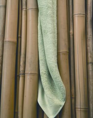 serviette de bain en bambou