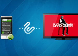 zapstreak permet de streamer n'importe quelle application android sur sa tv