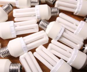 le recyclage des ampoules.