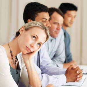 10 idées pour s'occuper en réunion.