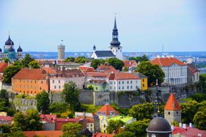 une vue d'estonie.