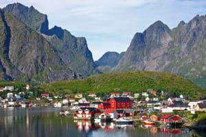 une vue de norvège.