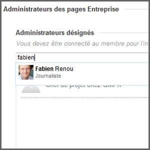 linkedin vous propose les noms de membres de votre réseau.
