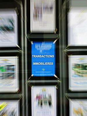 la baisse des transactions accélère la fermeture des agences immobilières,