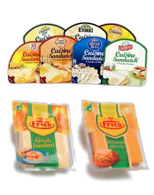 toutes les variétés de fromages se déclinent à présent en tranches pour