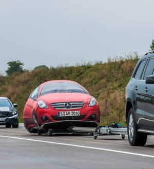 le constructeur allemand a testé un système de conduite automatisée en février