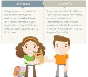 taskrabbit permet d'arrondir ses fins de mois en réalisant des tâches pour
