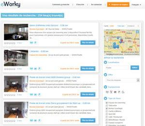 eworky référence 4 000 espaces de travail en france