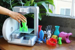 Imprimantes 3D : 8 start-up aux projets innovants