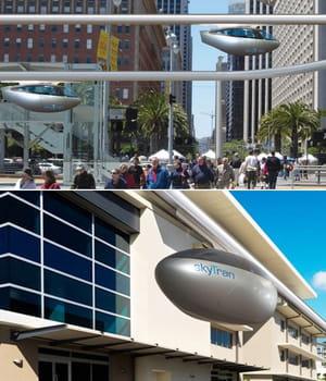 avec le skytran, on peut réserver son transport avec un smartphone.