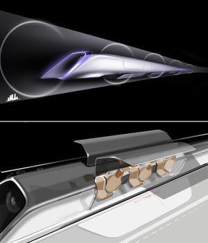 l'hyperloop consiste à faire voyager des capsules hermétiques dans un tube à
