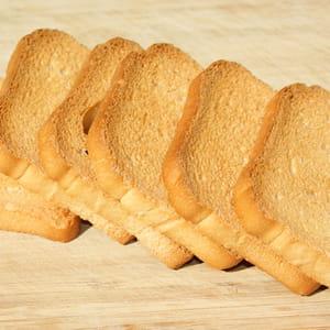le prix des biscottes et du pain grillé en grande distribution a diminué de