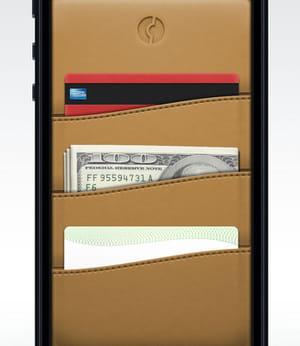 clinkle transfère le portefeuille sur le smartphone.