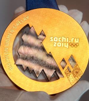 1300 médailles ont été fabriquées pour les athlètes des jeux olympiques de