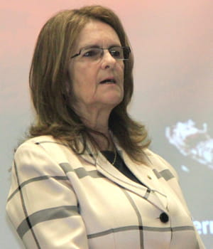 maria das graças silva foster està la tête de petrobras depuis 2012.