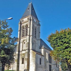 l'église saint-leu, à thiais.