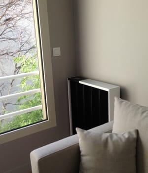 les radiateurs de qarnot computing ont tout d'un chauffage normal... sauf qu'ils