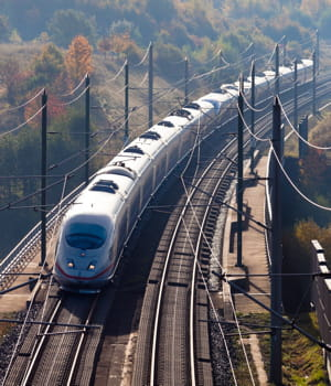 les milliers de trains qui circulent chaque jour sur le réseau pourraient