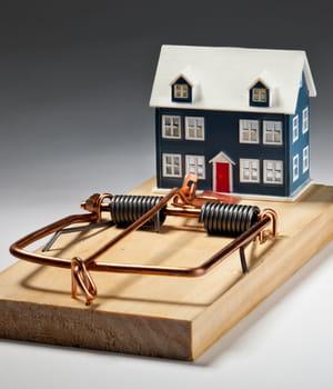 la baisse du prix de l'immobilier peut pousser acheteurs et vendeurs à prendre