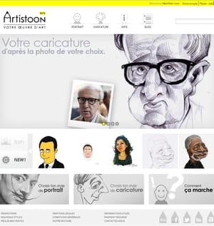 artistoon sortira bientôt une nouvelle version de son site.