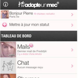capture d'écran app store