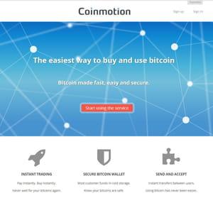 coinmotion surfe sur le secteur bitcoin.