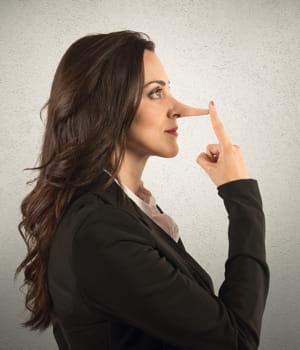 même si le nez des menteurs ne s'allongent pas, leur corps envoie des signaux