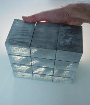 le béton litracon laisse passer la lumière grâce à ses fibres optiques