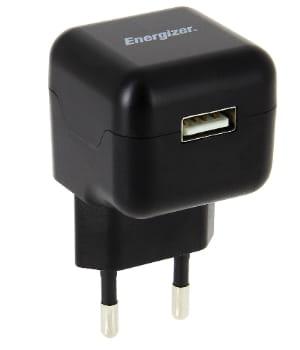 un chargeur energizer produit par avenir telecom.