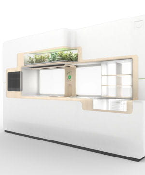 la cuisine colo du futur l 39 lectrom nager cologique jdn. Black Bedroom Furniture Sets. Home Design Ideas