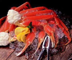 les produits de la mer sont une spécialité de red lobster.