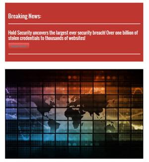 l'affaire cybervor a été dévoilée début août par le cabinet hold security sur