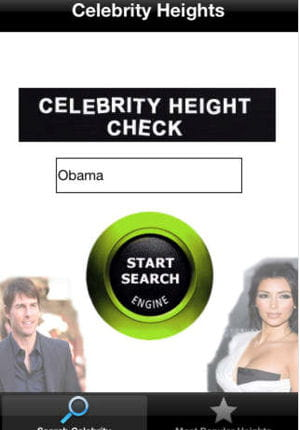 celebrity heights.