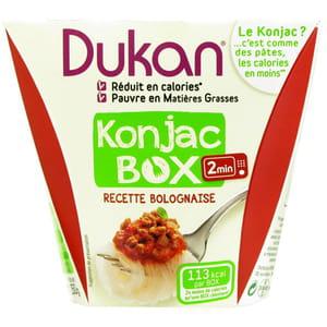 plat cuisiné au konjac de régime dukan.