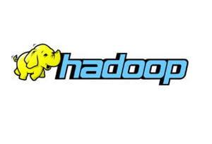 le logo d'hadoop est un éléphant jaune.