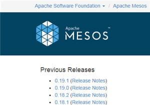 mesos est aussi un projet de la fondation apache.