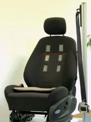 le siège auto à électrocardiogramme sur lequel planche ford n'en est encore