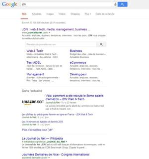 1er : google.