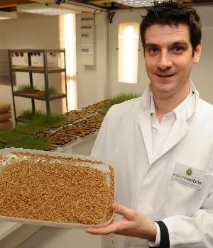 micronutris produit actuellement 1 tonne d'insectes par mois et envisage de