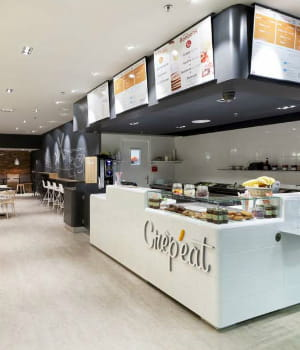 un restaurant crêp'eat réalise en moyenne 450000euros de chiffre d'affaires