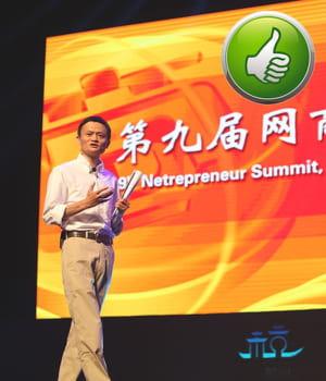 l'introduction en bourse du champion chinois du e-commerce alibaba a fait de